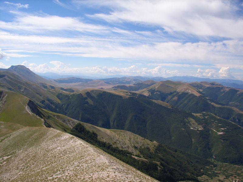 Monti Sibillini - Dal M. Bove Sud verso Castelluccio di Norcia